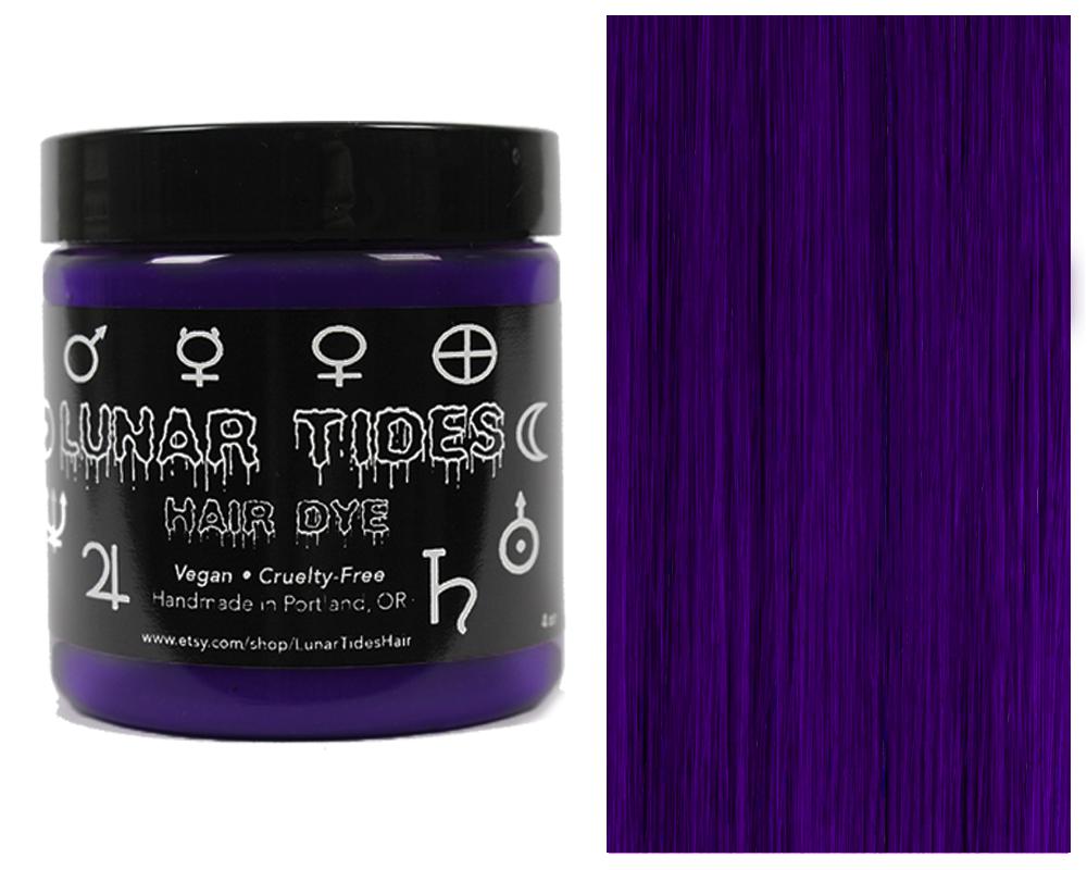 Dark Violet Purple Hair Dye Lunar Tides Hair Online Store