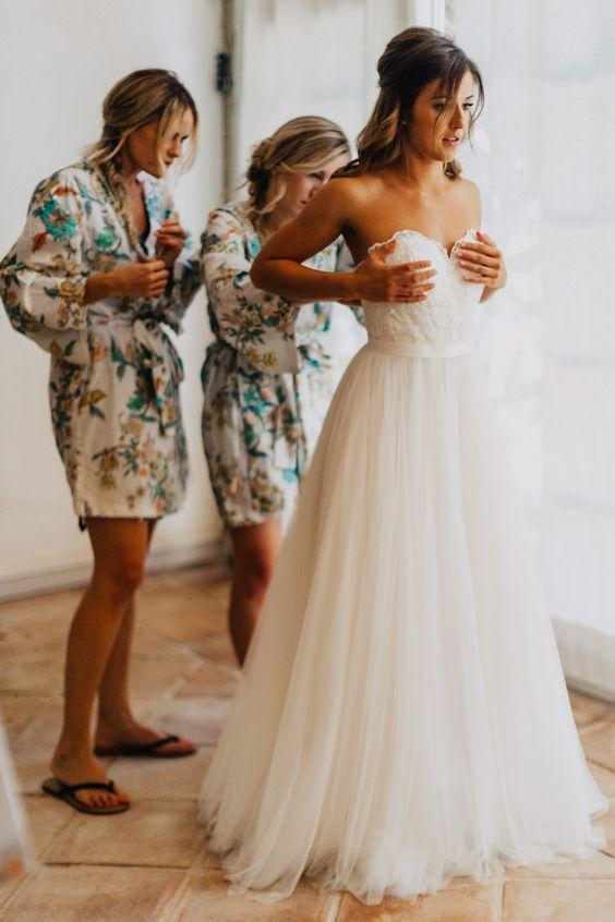 Hot Sale, Long Tulle Wedding Dress,Sexy Sweetheart Wedding Dress ...