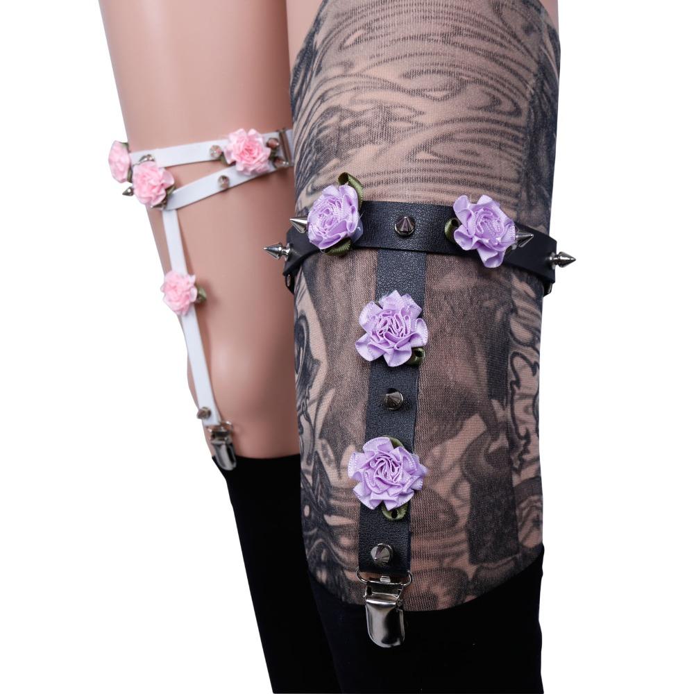 Pastel Goth Garter Belt · Sugarless Tokki · Online Store Powered by ...