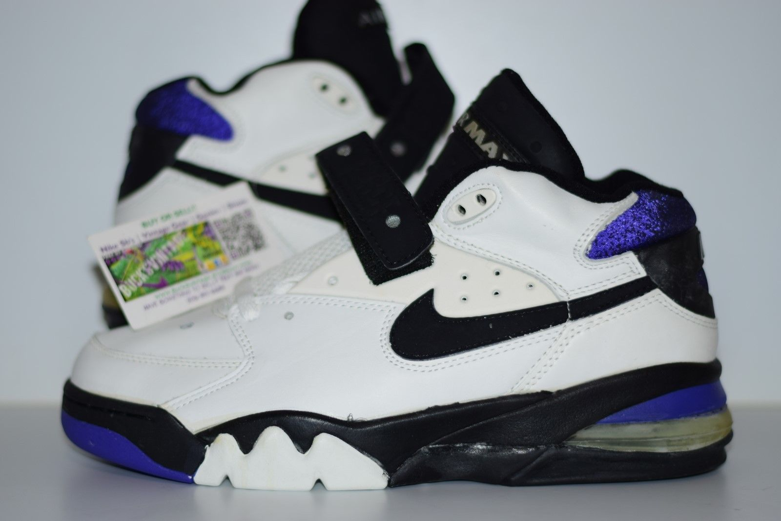 Size 10 | OG 1993 Nike Air Force Max CB Cobalt Suns Charles Barkley
