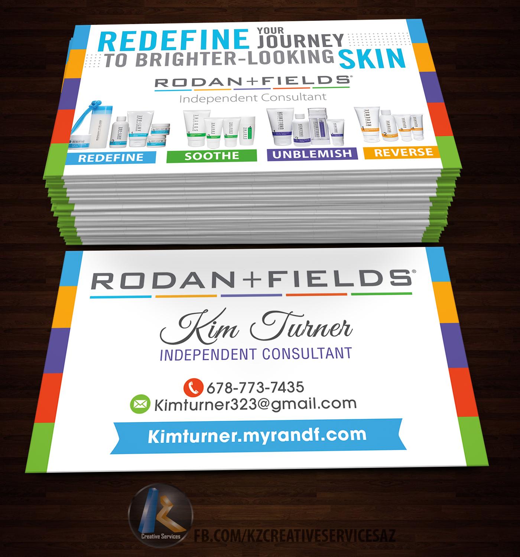Rodan fields business cards style 1 kz creative services rodan fields business cards style 1 colourmoves