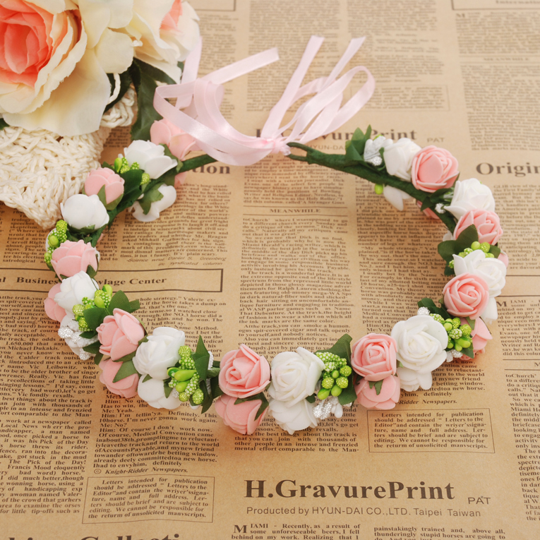 J71 pink flower ramantic classical pink rose garland bridesmaid j71 pink flower ramantic classical pink rose garland bridesmaid flower garland mightylinksfo