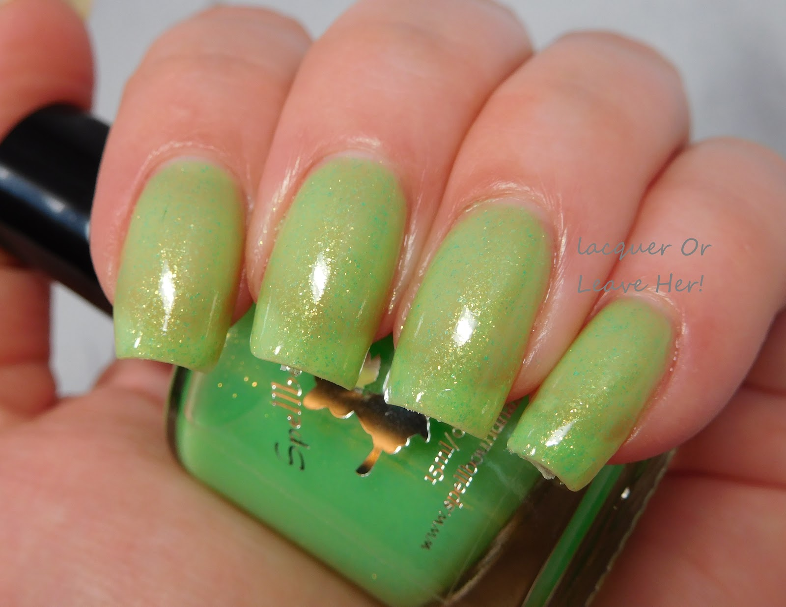 I Wet My Plants - custom handcrafted sheer jelly pastel green ...