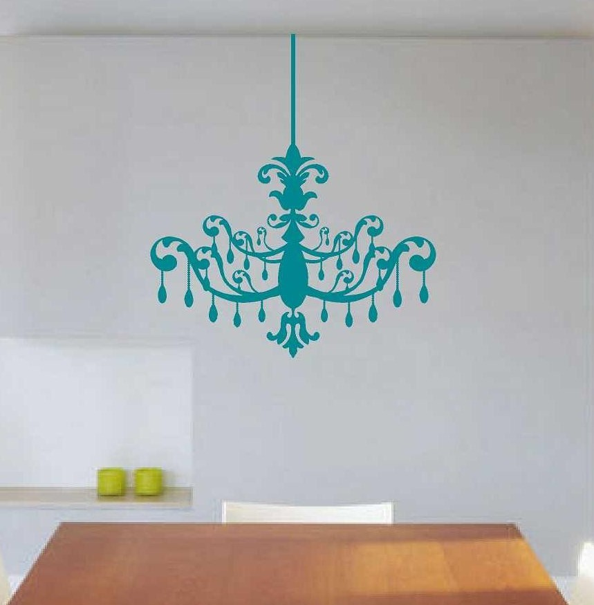 Chandelier wall decal wall glitz online store powered by storenvy chandelier wall decal thumbnail 2 aloadofball Gallery