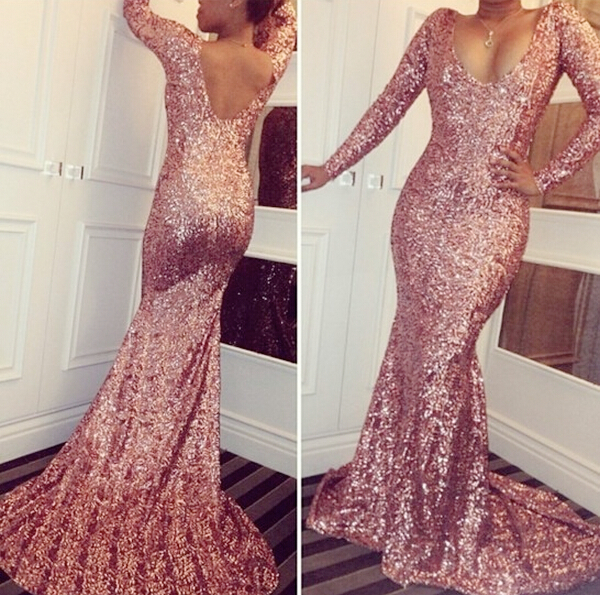 Sequin Prom Dresses,Modest Prom Gown,Cheap Prom Gowns,Sequined ...