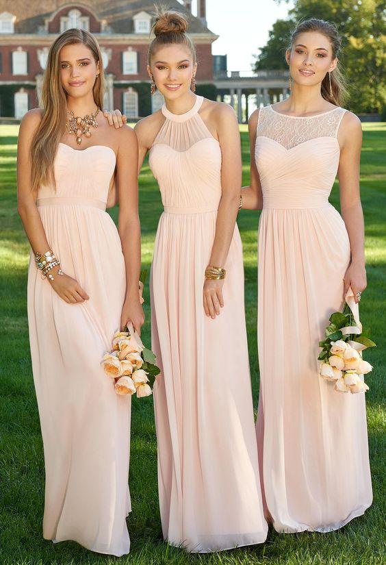 Cheap blush colored dresses