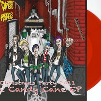 Candy Cane EP Red, Green, Gold or White/Red Marble Vinyl!