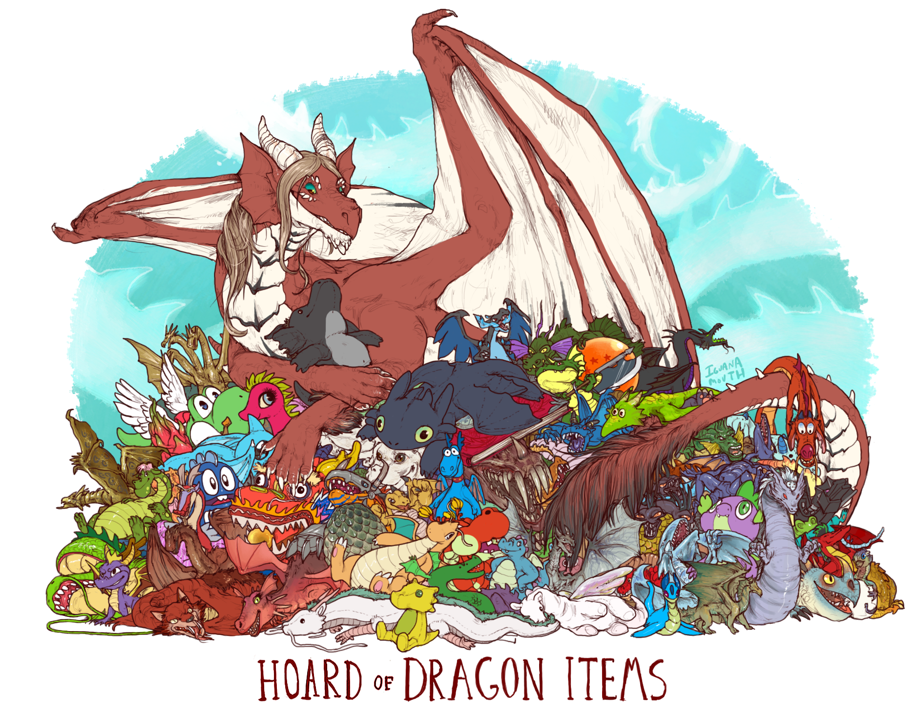 dragon hoards iguanamouth online store powered by storenvy