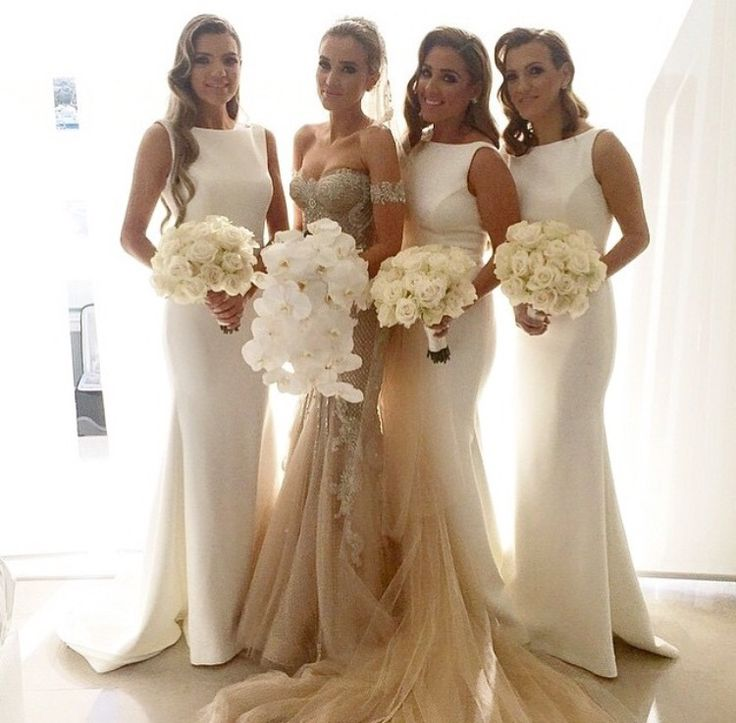 Elegant Bridesmaids Dress