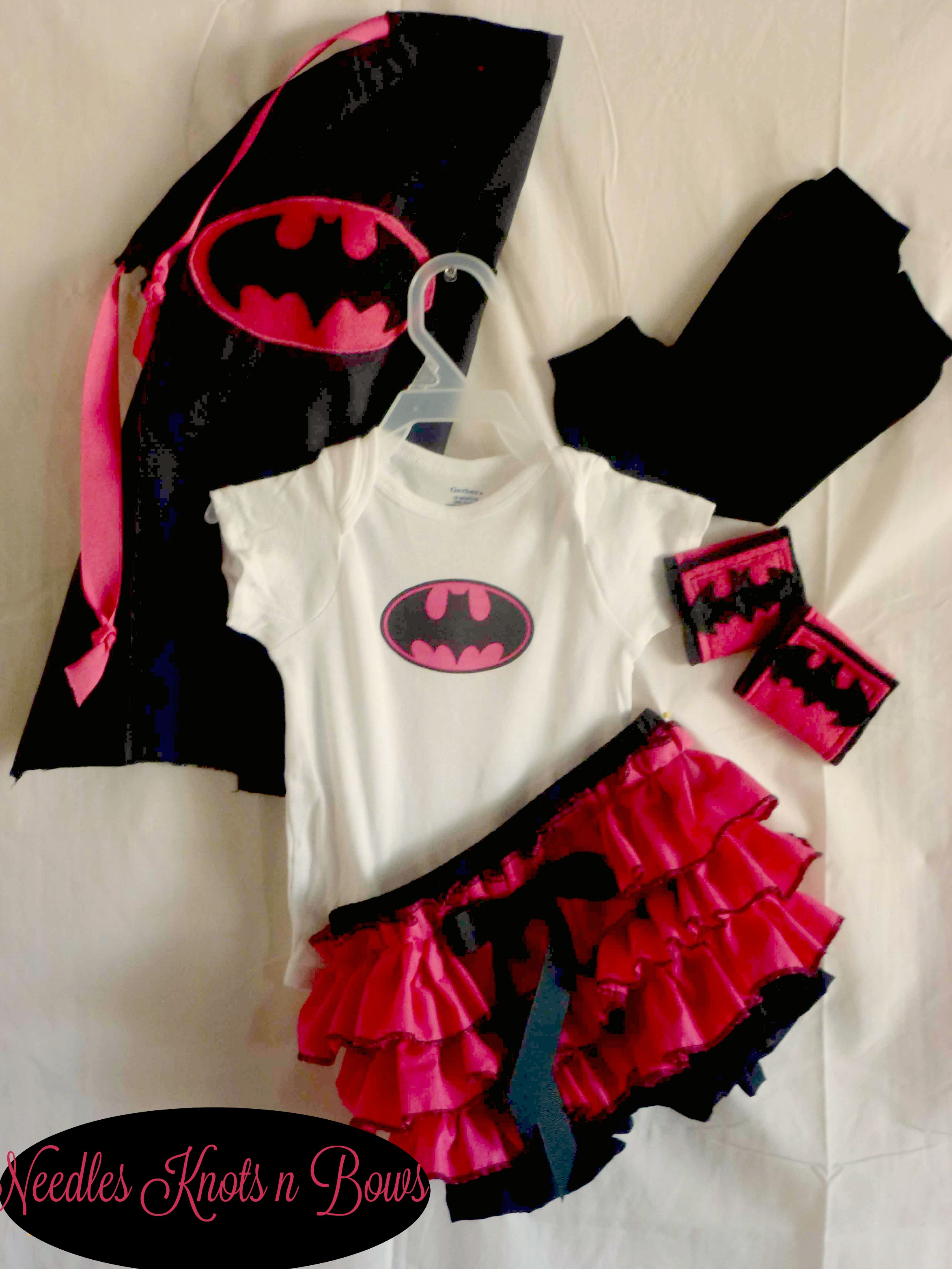 Girls Batgirl Costume Baby Girl Halloween Newborn Infants