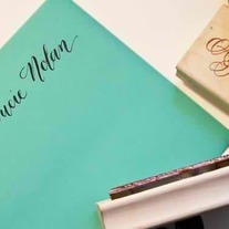 Custom Calligraphy Name Stamp -- Your Name Handwritten