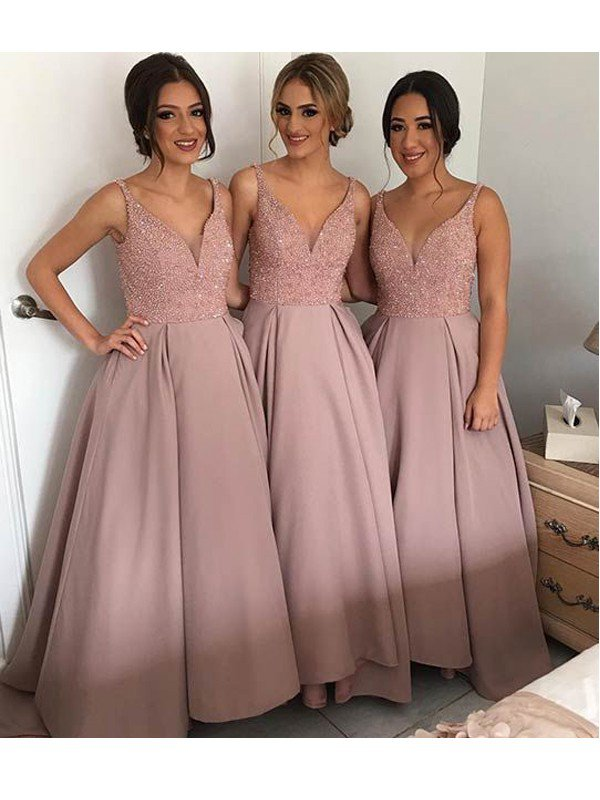 A line bridesmaid dresses,Lace bridesmaid dresses, Long bridesmaid ...