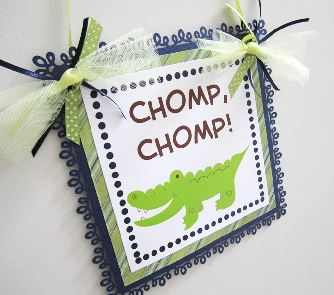 http://adorebynat.storenvy.com/products/2020779-alligator-welcome-door-sign-for-party-or-nursery-room