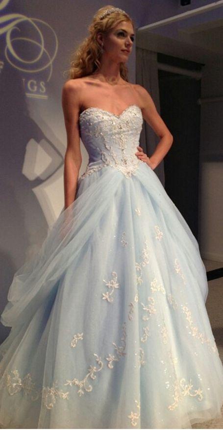 Cinderella Dresslight Blue Quinceanera Dressesprom Dressball Gown
