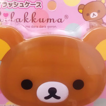 Rilakkuma Fake Eye Lash Holder with Mirror [FB-35201]