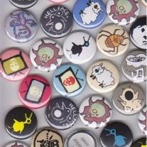 ART PIN GRAB BAG! (10 Random MD pins)
