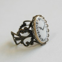 Victorian clock ring - Thumbnail 1