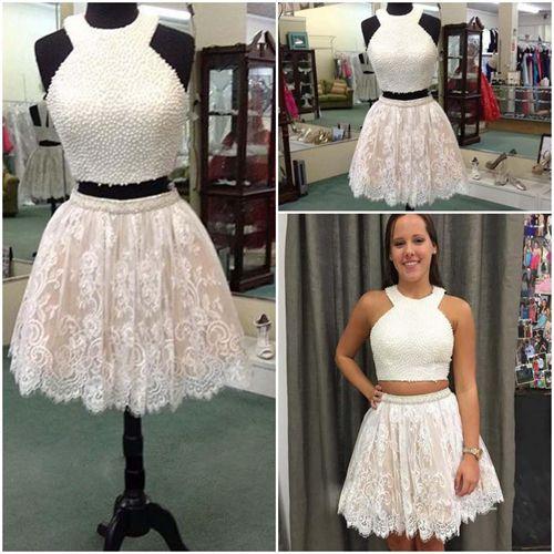 2 Piece Sweet 16 Dresses