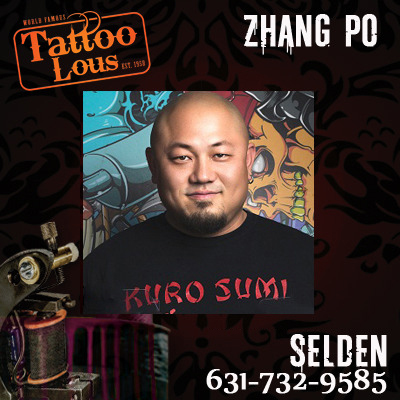 Zhang Po (PoPo) · Tattoo Lou\'s New York · Online Store Powered by ...