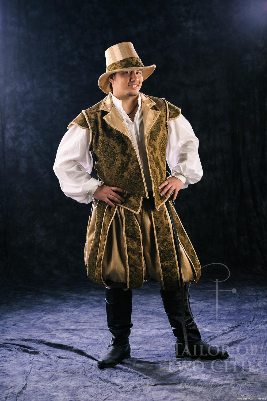 Men S Tudor Renaissance Paned Slops Pumpkin Pants On