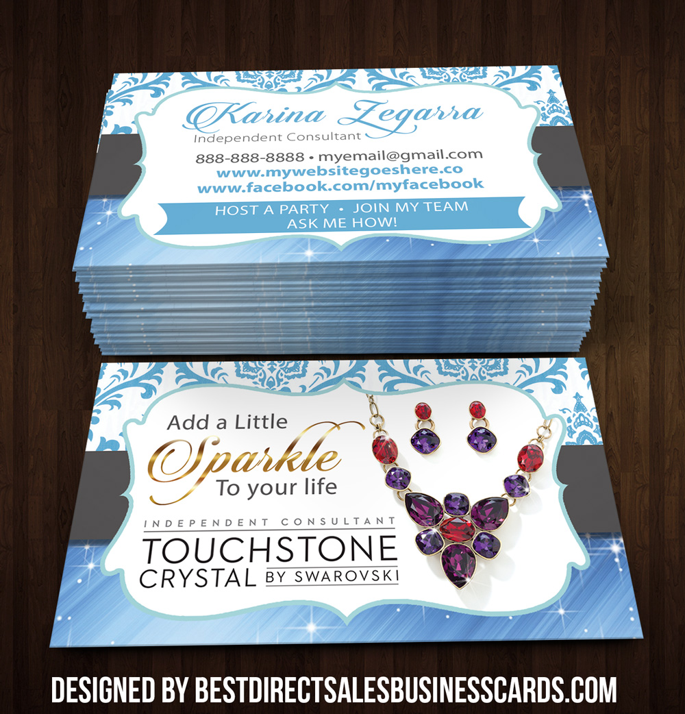 Touchstone Crystal Business Card - 2 · KZ Creative Services · Online ...