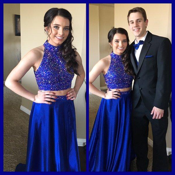 Blue Prom Prom Dresses