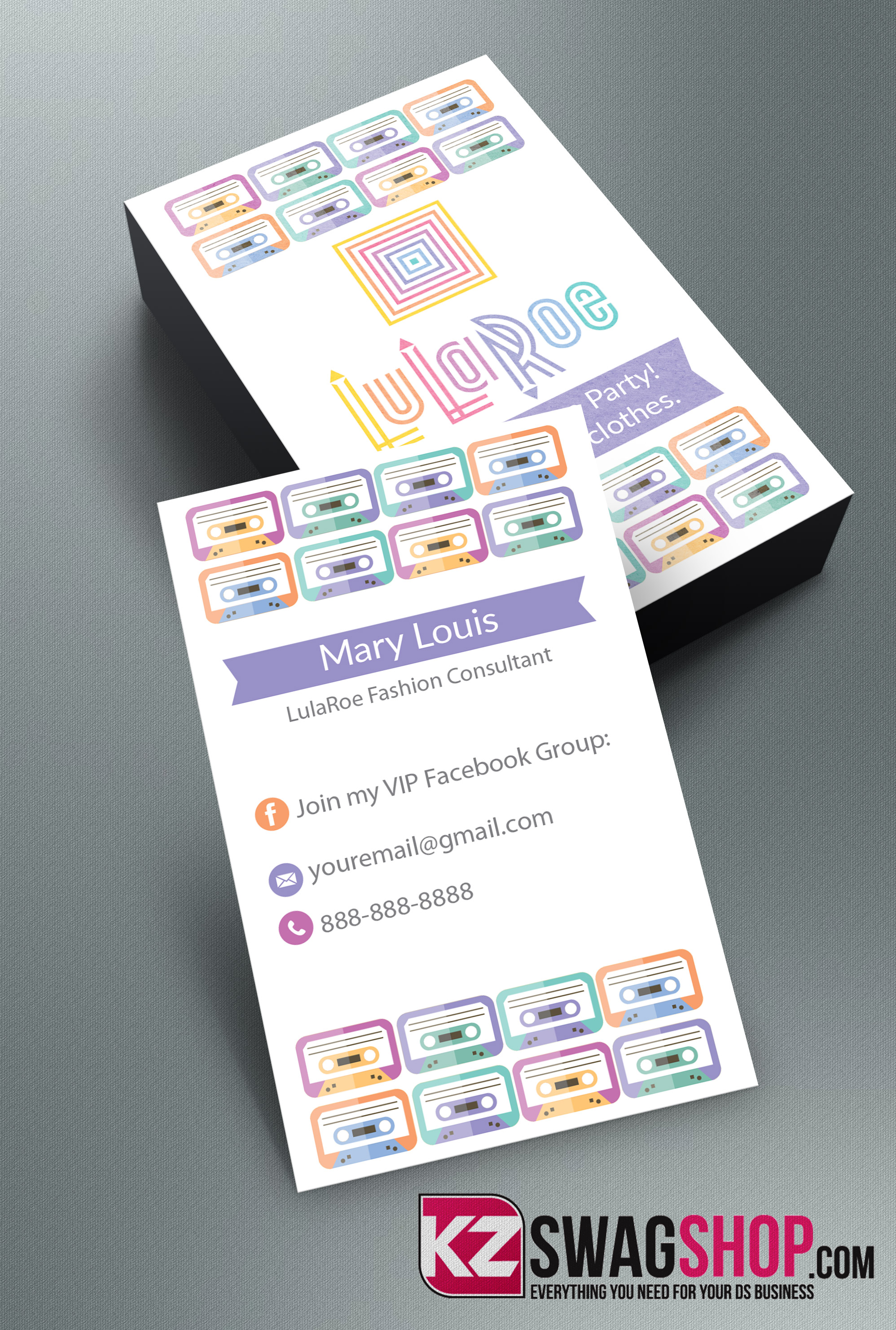 LulaRoe Business Cards - 8 · KZ Creative Services · Online Store ...