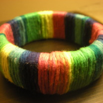 Cute Multicolored Bangle Bracelet