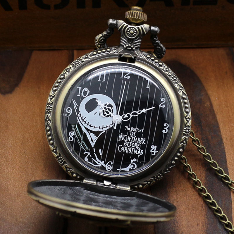 nightmare before christmas pocket watch thumbnail 3 - Nightmare Before Christmas Watch Online