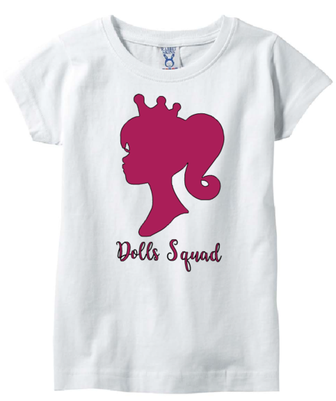 Barbie Nail Art Games Free Download: Girl's Barbie Dolls Squad Tee Shirt On Storenvy