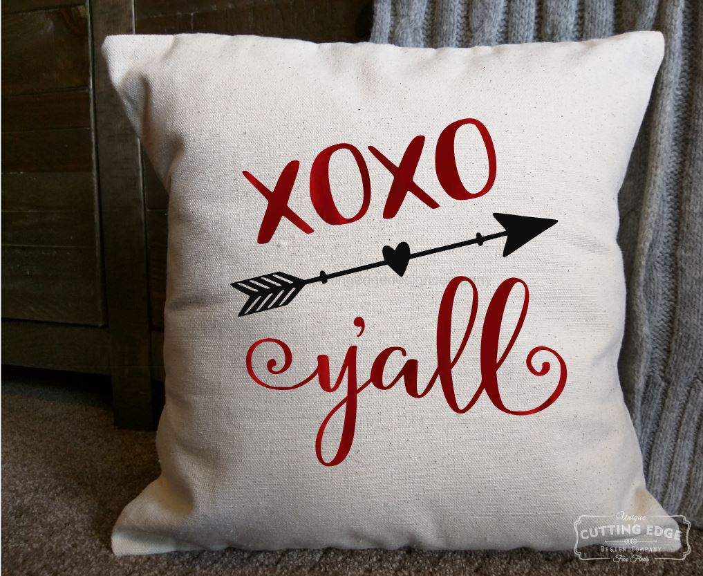 Xoxo Ya 39 Ll Cotton Canvas Natural Pillow Rustic Home