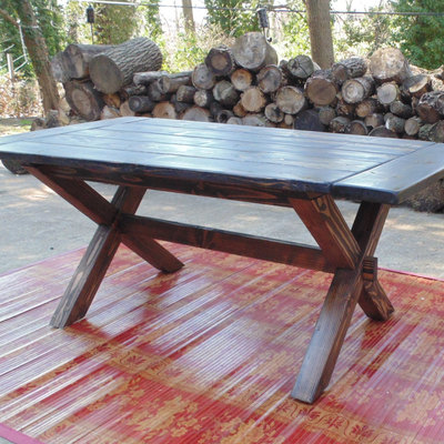 Somerset crossed leg dining table  farmhouse  reclaimed wood  custom   handcrafted  handmadeHome   Wonderland Woodworks   Online Store Powered by Storenvy. Farmhouse Dining Table Made In Usa. Home Design Ideas