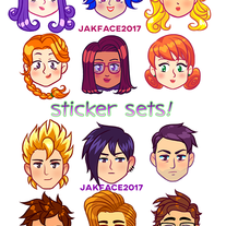 Stardew Valley Sticker Sets! medium photo