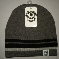 MAD COW BEANIE (GREY)