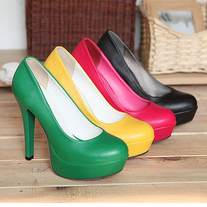 Tacones rosa,verde,amarillo o negro \ High Heels pink,green,yellow or black LS093