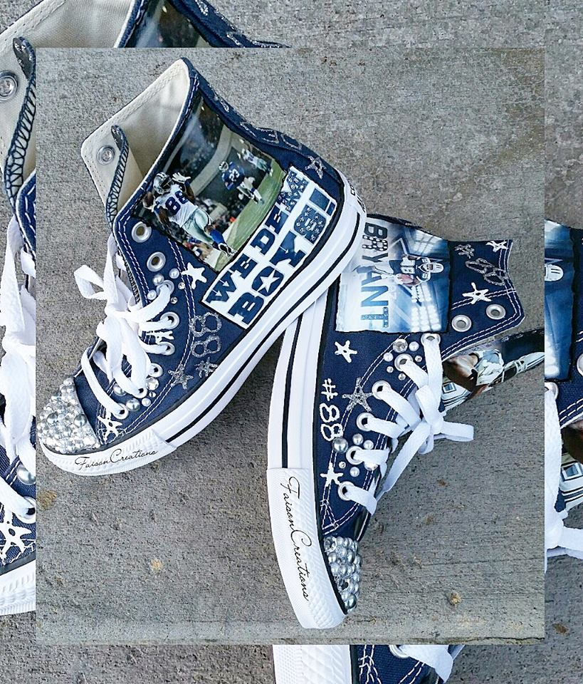 Dallas Cowboys Converse Shoes