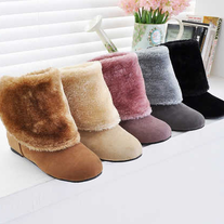 Zapatos Pelo / Fur Fluffy Shoes LS130
