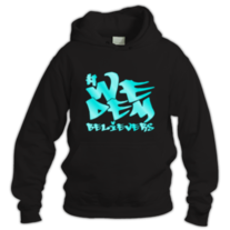 We Dem Believers-Hoodie (turquoise) medium photo
