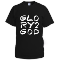 Glory 2 God (white letter) medium photo