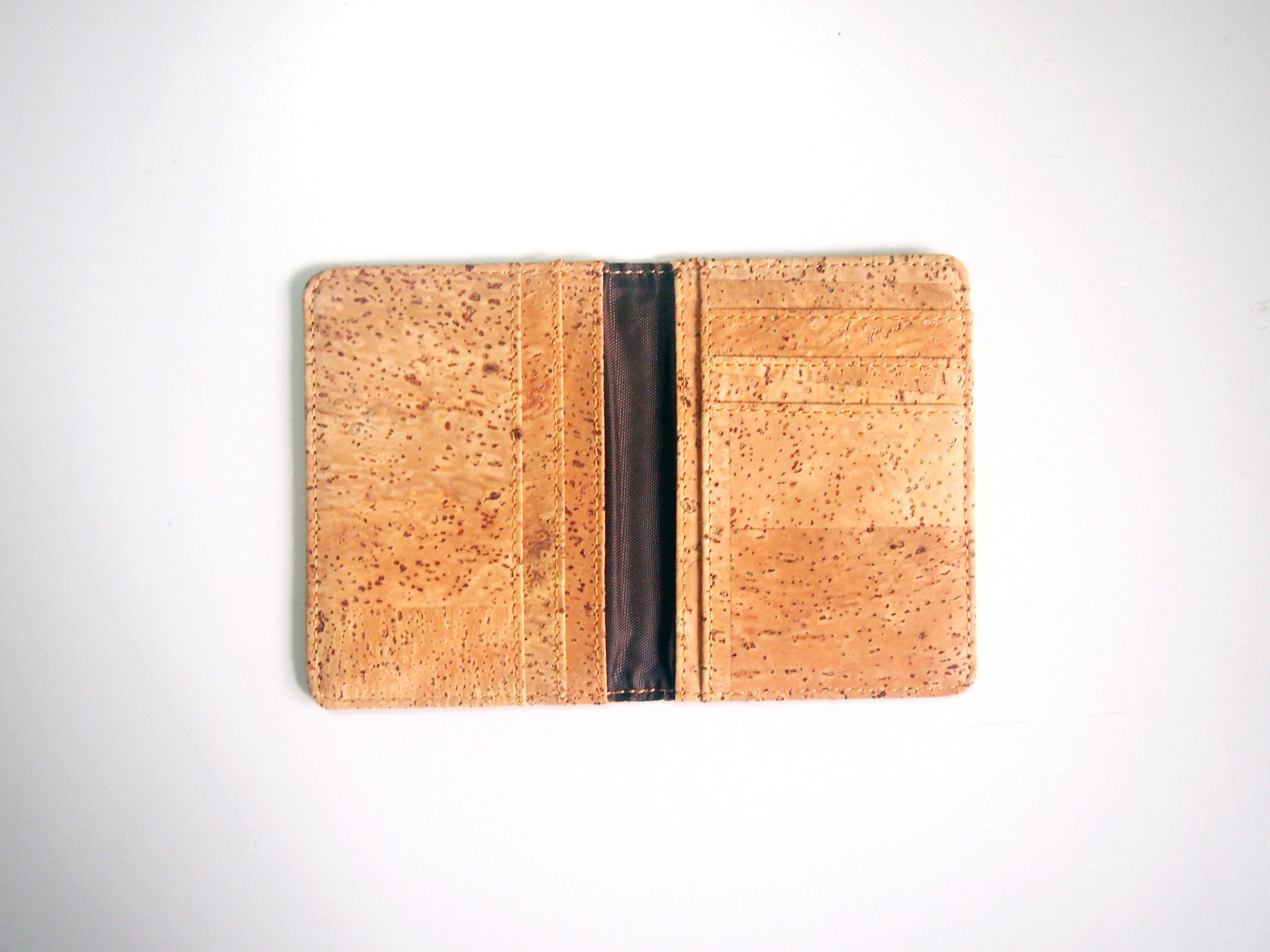 Cork Bifold Card Holder Business Card Holder Card Wallet Card Case ...