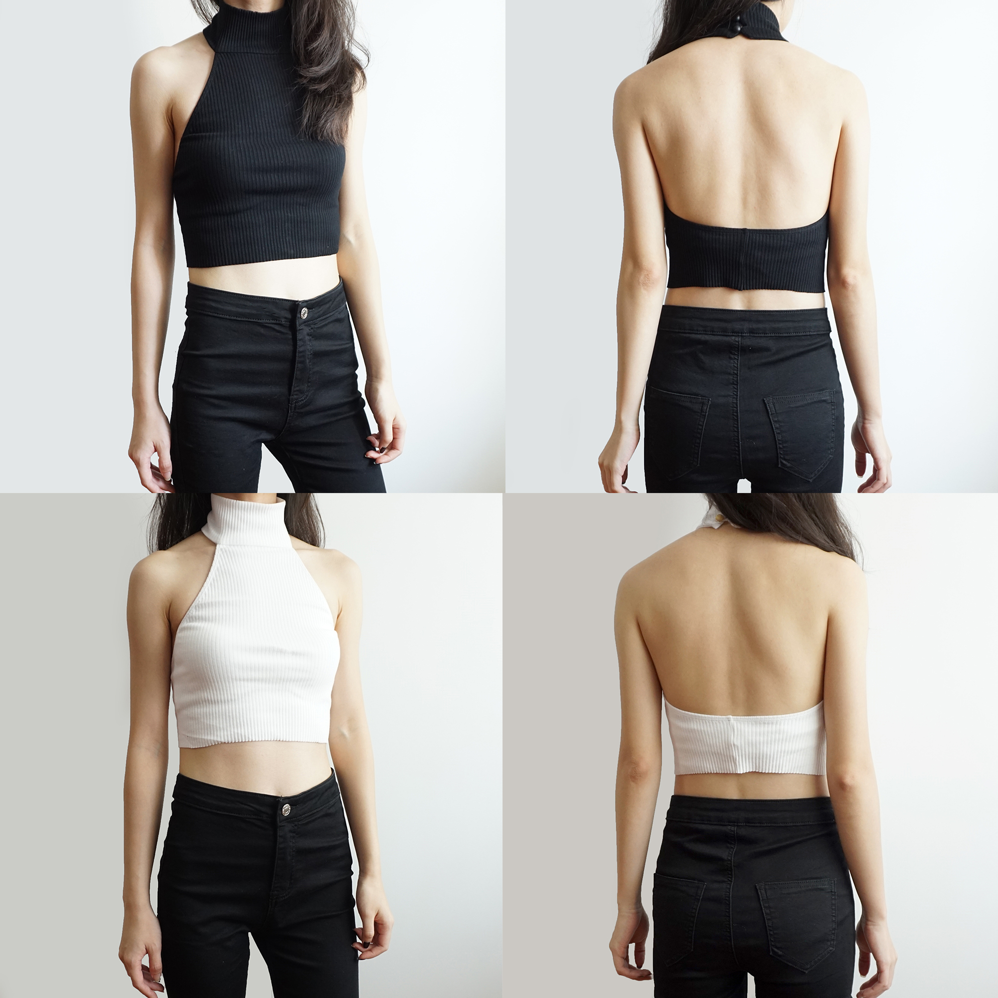 Turtleneck Halter Crop Top 5 Colors 183 Megoosta Fashion 183 Free Shipping Worldwide On All Orders