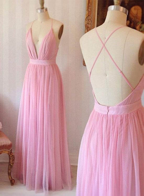 Sexy Prom Dress,Pretty Prom Dress,Simple Backless Evening Dress 423 ...