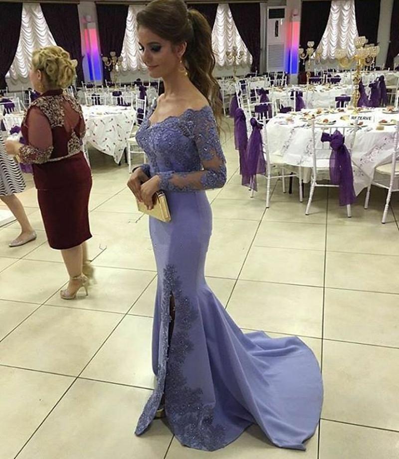 New Arrival Prom Dress,Modest Prom Dress,long sleeves prom dresses ...