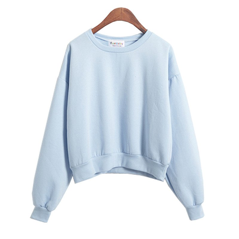 Cropped Plain Sweater Shopcacaca Online Store Powered By Storenvy