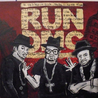 Run dmc painting