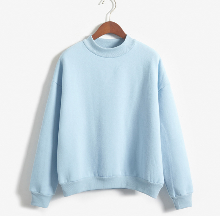 Pastel Multicolor Basic Sweatshirt Pullover · Candy Child · Online ...
