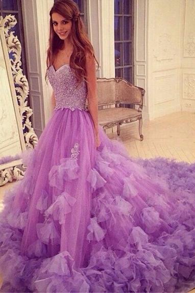 Stylish Prom Dresses,Sweetheart Prom Dress,Sleeveless Prom Dress ...