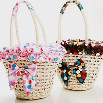 Bolso Paja / Straw Bag LS354