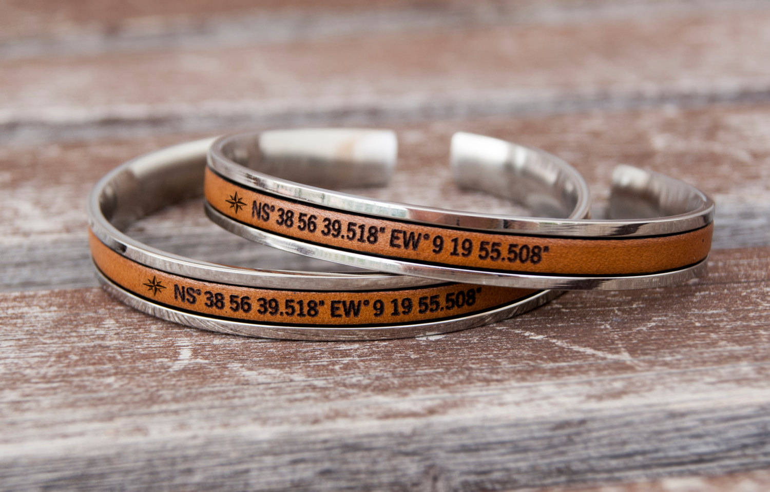 bracelet loading longitude coordinates custom personalized image is latitude and itm s