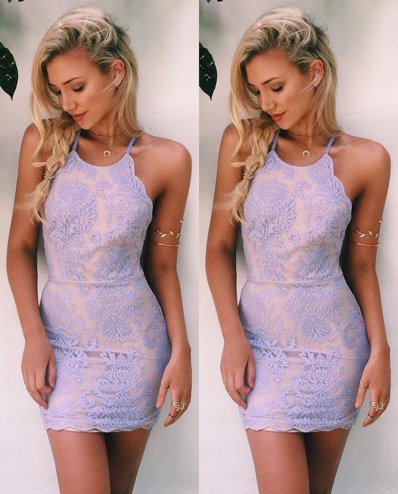Lace Homecoming Dress,Short Prom Dress,Graduation Party Dresses ...